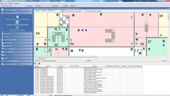 Модуль ПО PERCo-SM08 Мониторинг