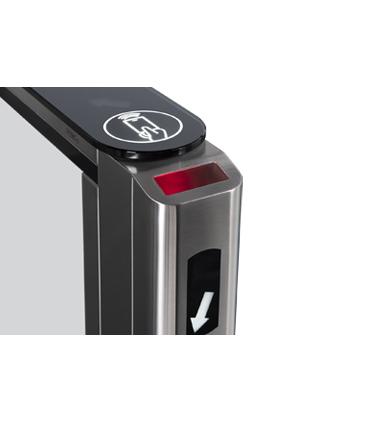 Скоростной проход ST-01 со стойкой для встраивания сканера штрих-кода